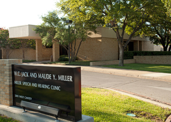 This is the Miller Speech and Hearing Clinic