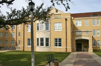 Foster Hall started as an all-female residence hall, but now is a co-ed hall housing around 200 Horned Frogs. (Photo Credit: TCU Maps)