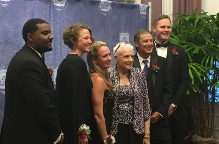 TCU welcomed six new inductees into the Letterman Hall of Fame Thursday night.
