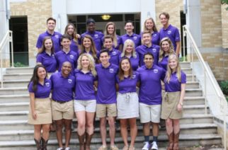 2017 orientation leaders in snapshot of photo from student development services