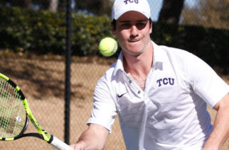 ITA Kick off Championship matches at the TCU tennis center in Fort Worth, Texas on January 28, 2018. Courtesy of gofrogs.com