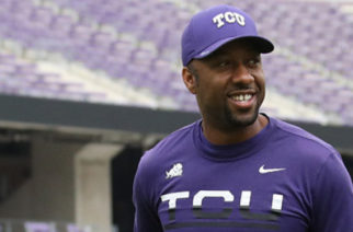 Jeremy Modkins was promoted to safeties coach from defensive analyst Thursday. Photo courtesy of gofrogs.com