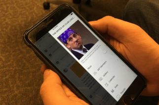 'The Office Gif Club' GroupMe gives hundreds of students an Office gif a day