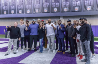 Many former Frogs were on hand to witness TCU's 2018 pro day. Photo by Cristian Argueta Soto.
