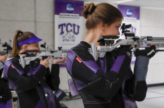 TCU Rifle team photographed in Fort Worth, Texas on August 25, 2017. (Photo by/Sharon Ellman)