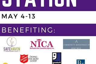 The Donation Station event will be held May 4-13 on campus.