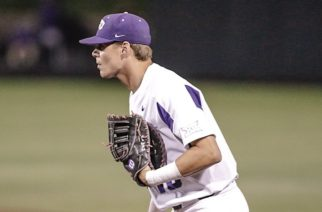 Home runs from A.J. Balta and Johnny Rizer were the highlights of the 6-4 win.  Photo courtesy of TCU Baseball