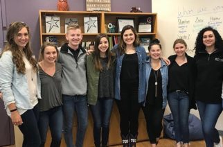 A group of Roxo students supported the campaign they worked hard to create, by wearing denim!